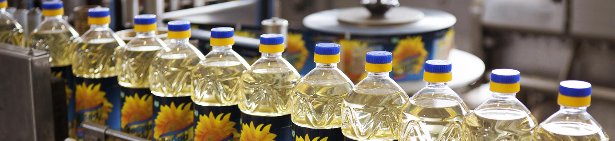 Завод розлива и фасования масла