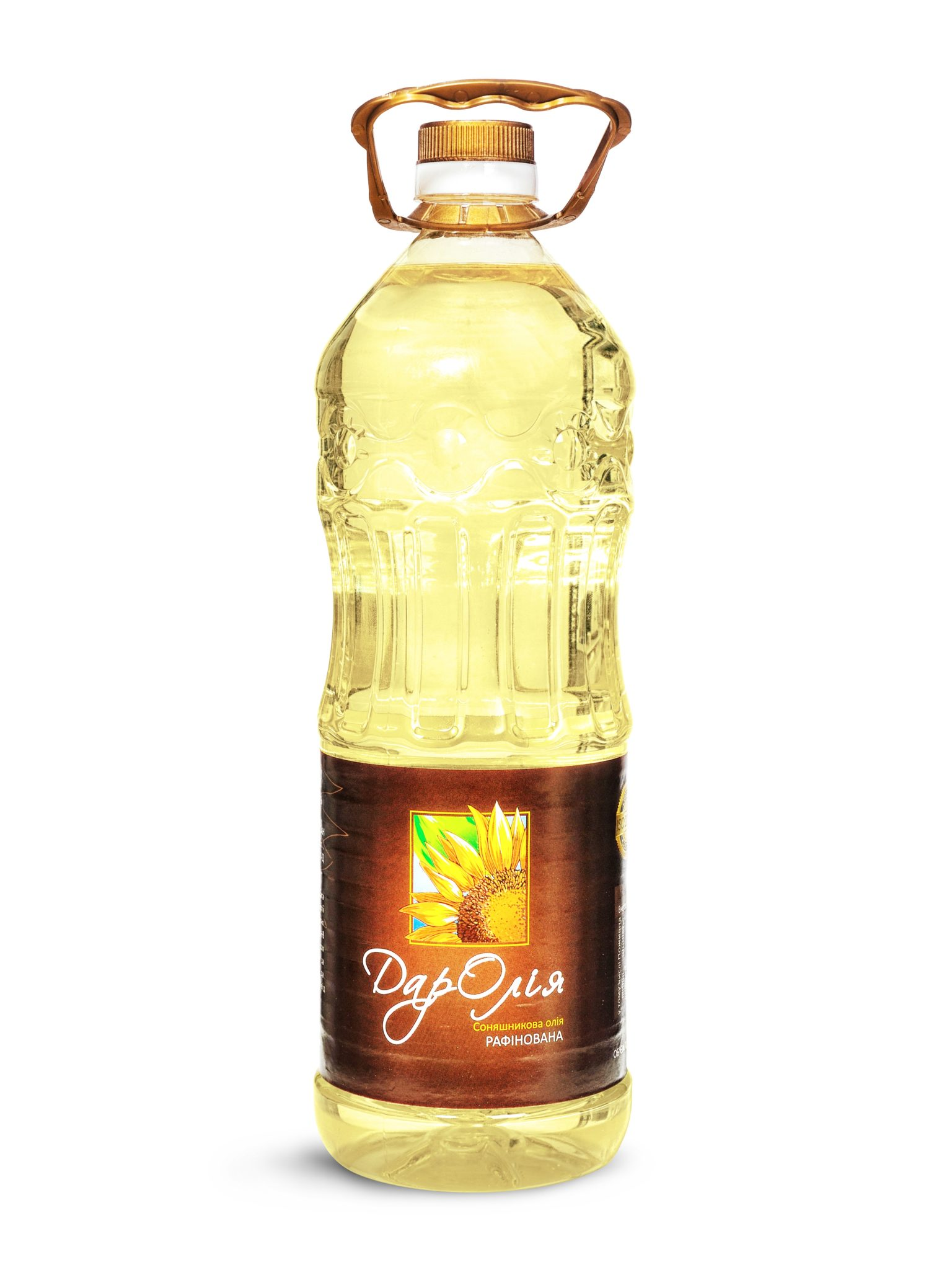 BOTTLE 1,8 liter Sunflower refined oil