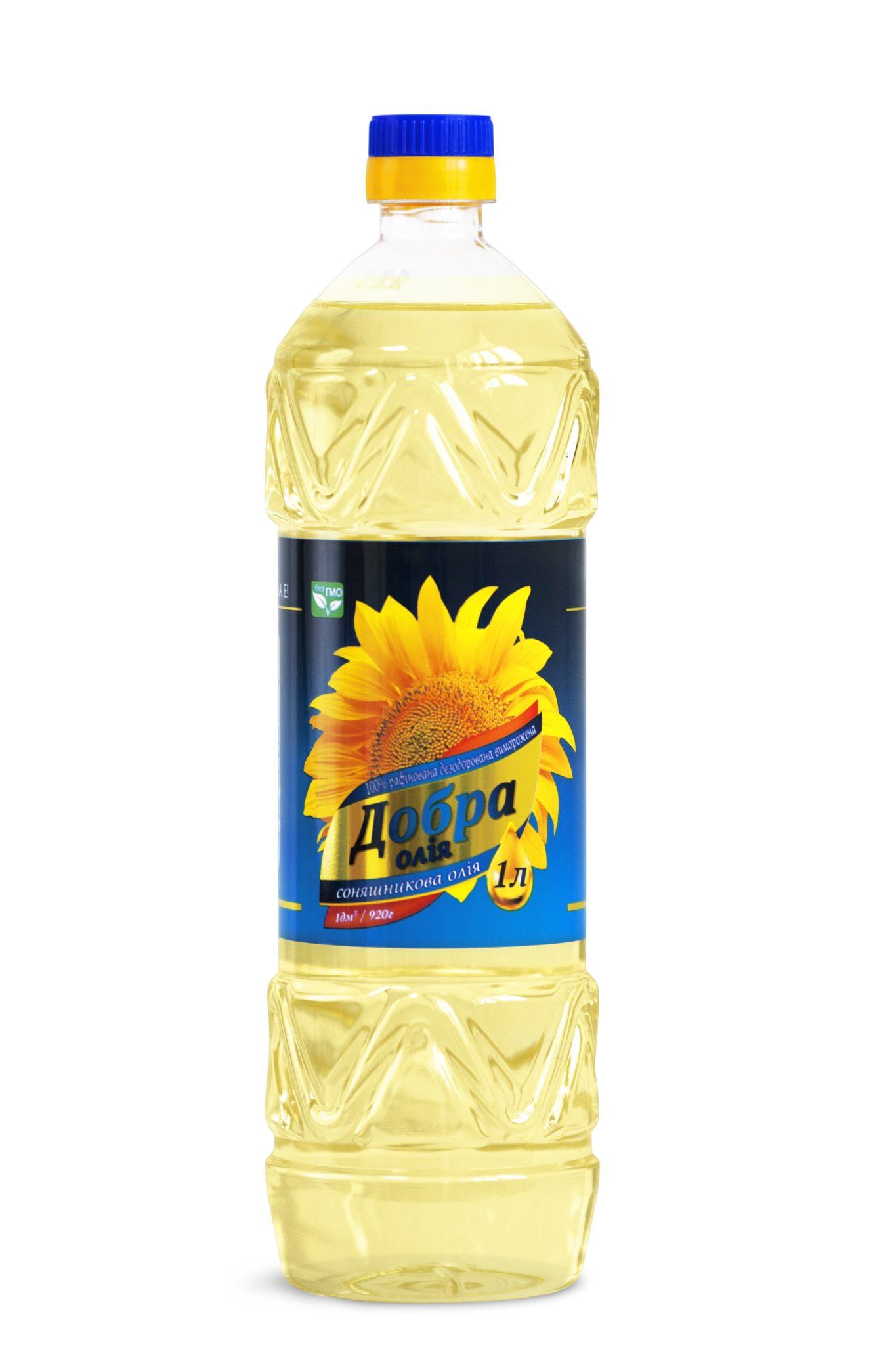 масло подсолнечное 1л