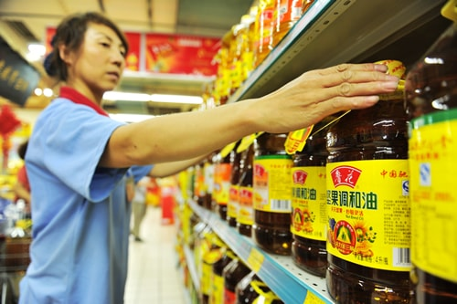 The percentage of Ukrainian sunflower oil in the Chinese market has increased