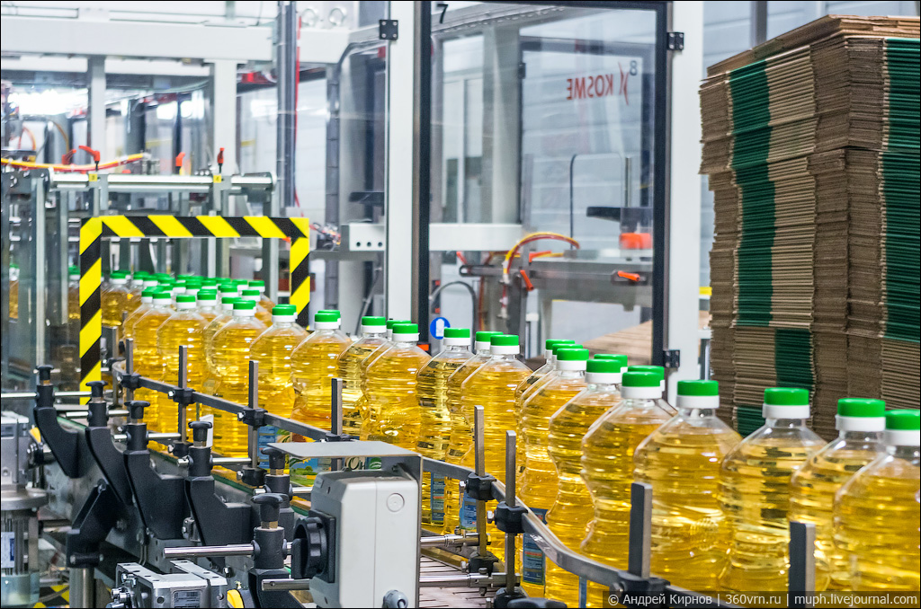 Sunflower oil exports have reduced in Ukraine