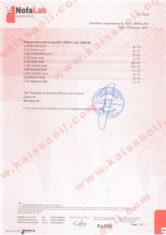 Сертификат испытаний ISO12966