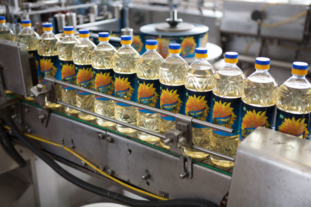 Exports of high oleic sunflower oil increased by 2 times