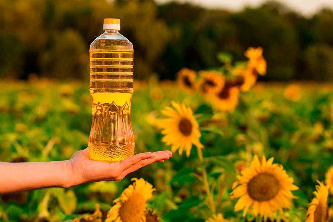 Ukraine reduced the supply of sunflower oil by almost 15%