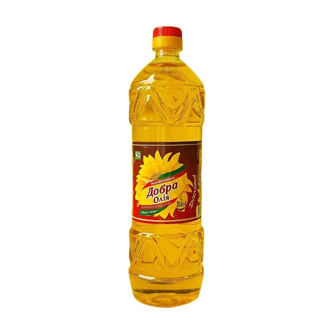 BOTTLE 1l Sunflower refined oil