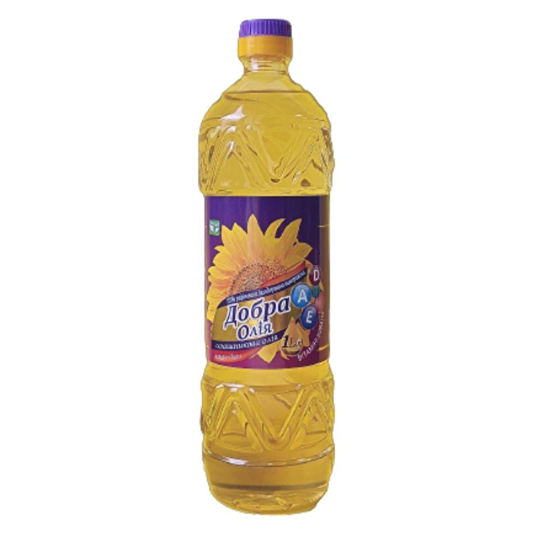 BOTTLE 1 liter  Sunflower vitaminized oil