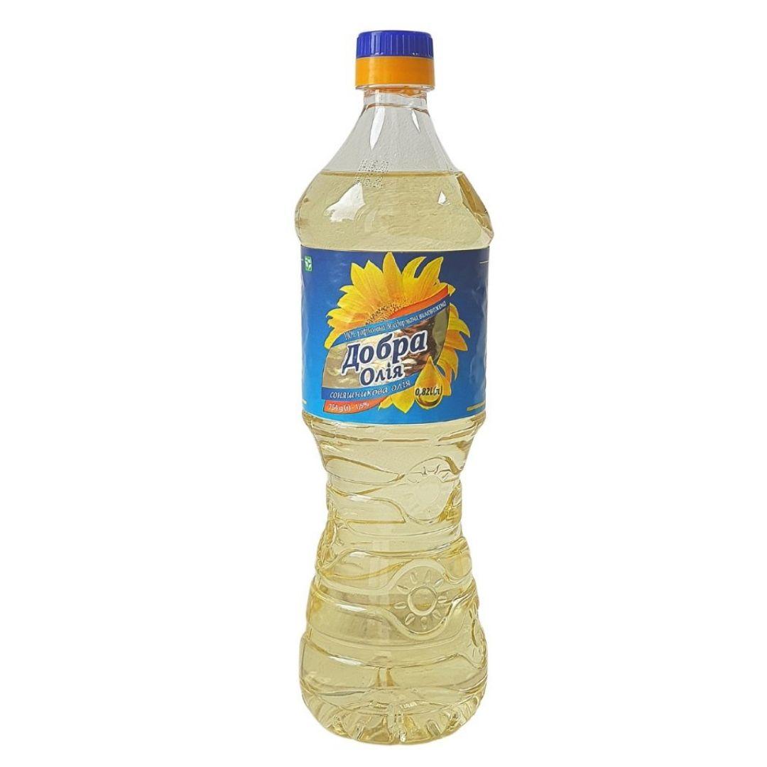 BOTTLE 840 ml Sunflower refined oil